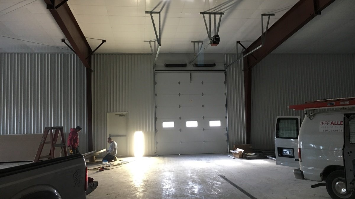 cox motors interior garage doors