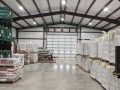 wendell pre-engineered building interior inventory storage